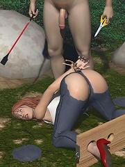 Hot BDSM 3D Comics