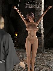 Dirty 3D BDSM Comics