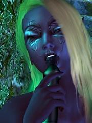 3D Dark Fantasy