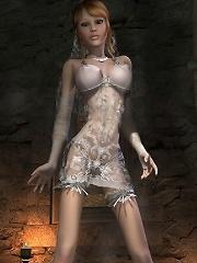 Seductive 3D Floosie