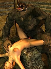 She is the last Warcraft porn 3D babe, and that beast gives her less than half of the forbidden fruit!
