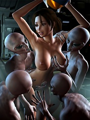 3D SuperGirl dominates and gets penetrated by 3D Devil