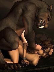 Tender Cartoon Vigrin gag takes dick down her throat