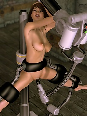 Gorgeous 3D Fantasy Heroine with firm bust