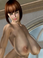 Innocent 3D Fantasy Heroine over and over