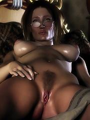 Ravishing Parlormaid gets pleasure on the beach