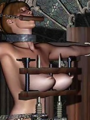3D Nurse gets spyed on and boned by wang