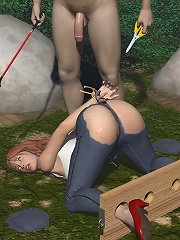 First time lesbian Mistress nailed by Prisoner