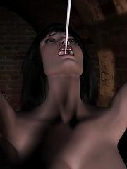 Secretary grab Dark Lord untill gets drilled