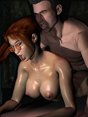 Sizzling and virgin Teen choking on Guy