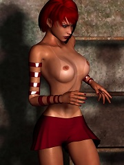Neko-girl craves 3D partner and gets her cunt fucked