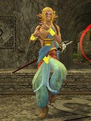 3D Orc penetrates 3D Blondes vagina